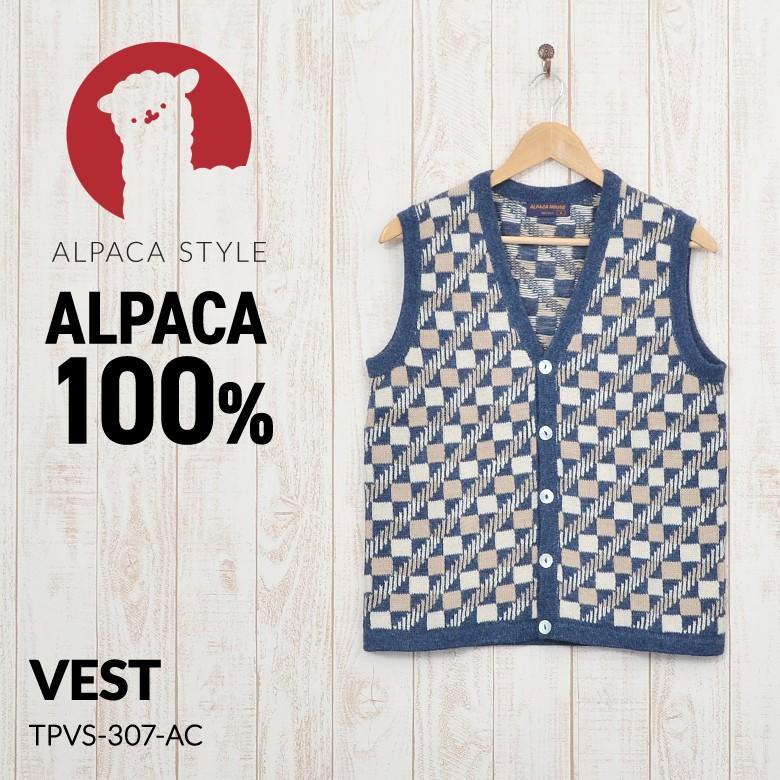 最新情報 アルパカ ベスト レディース メンズ 男女兼用 アルパカ100% TPVS-307-AC, AXAS Co. ONLINE COLLECTION b29a1c26