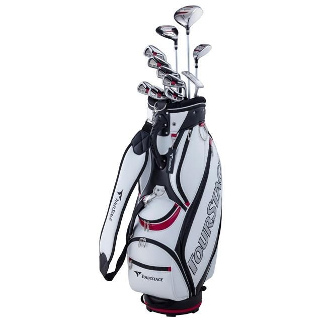 ブリヂストン 本店 クラブセット TOURSTAGE V002 Sセット V2GSKCS メンズ 11本セット 即納最大半額 ゴルフセット BRIDGESTONE キャディバッグ付き