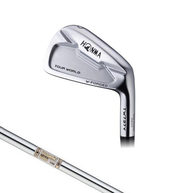 ホンマ 2016年モデル TW737 V アイアン Dynamic ゴールド AMT スチールシャフト 6本セット(5〜10) ゴルフ メンズ golf5