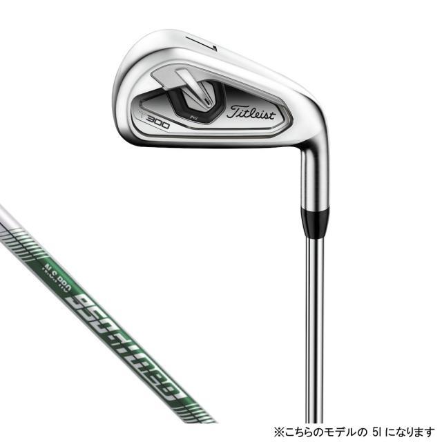 タイトリスト T300 ゴルフ 単品アイアン N.S.PRO 950GH neo S 5I 23゜ 2019年モデル メンズ Titleist