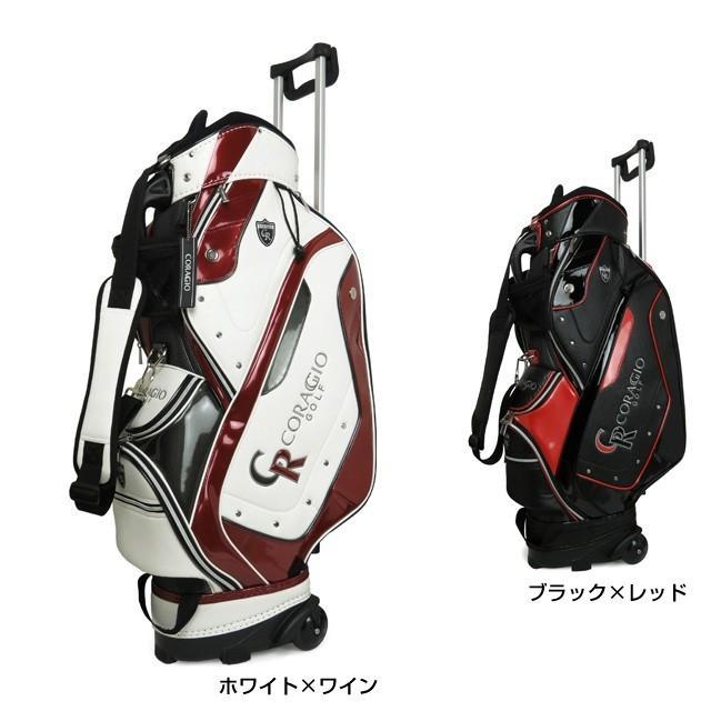 コラッジオ CR-0B1005CTCB キャスター付 キャディバッグ 9型 メンズ ゴルフ golf5 キャディーバッグ
