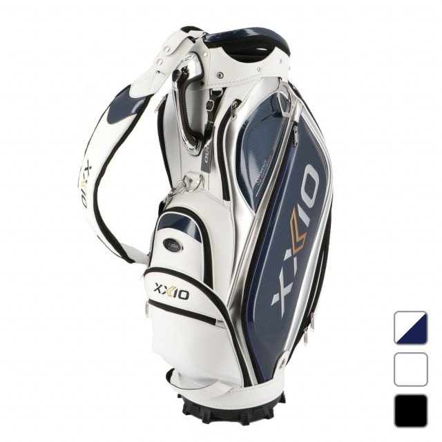 ダンロップ ゼクシオ 当店一番人気 XXIO プロレプリカ キャディバッグ GGCX109 メンズ OUTLET SALE ホワイト 9.5型 ゴルフ