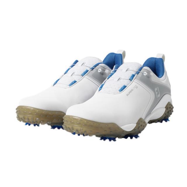フットジョイ ゴルフシューズ 直営ストア 20 スーパーライトXP WT 58077 メンズ FOOT ゴルフ ダイヤル式スパイクシューズ 3E ホワイト FJ JOY 半額