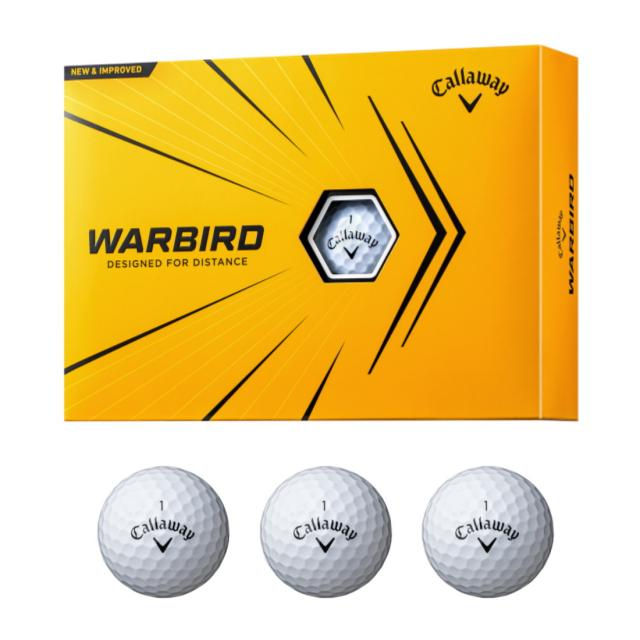 キャロウェイ WARBIRD ウォーバード お気にいる 4518300117 1ダース ゴルフ 12球入 Callaway 驚きの値段で 2021年モデル 公認球