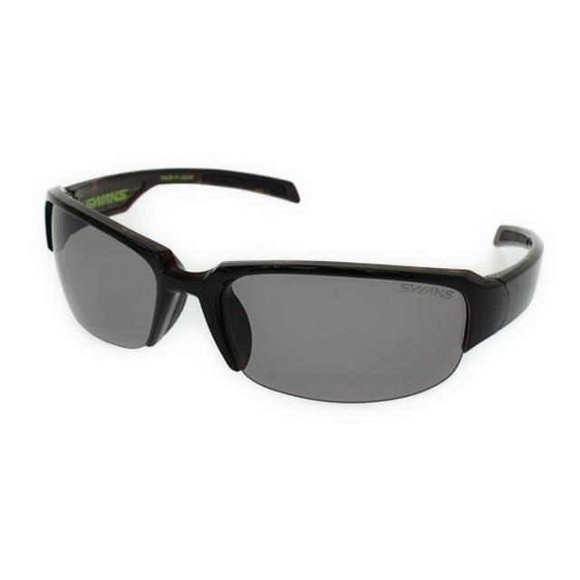 スワンズ 偏光サングラス GW-3701 BK/BR :ブラック×ブラウン SWANS ゴルフ golf5 熱中症 暑さ対策 UV対策
