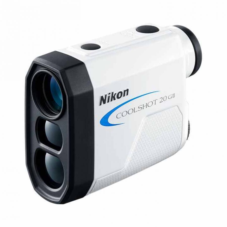 ニコン 国産品 クールショット 20 G2 COOLSHOT 出色 GII レーザー ゴルフ Nikon ホワイト 距離測定器 最軽量 距離計