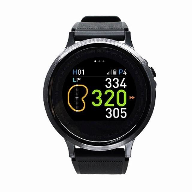 ゴルフバディ WTX-100+ BK GPSウオッチ (腕時計型)(ゴルフナビ GPSゴルフナビ GPSナビ ナビゲーション)(距離計測器 距離計測 距離計 距離測定 距離測定器)