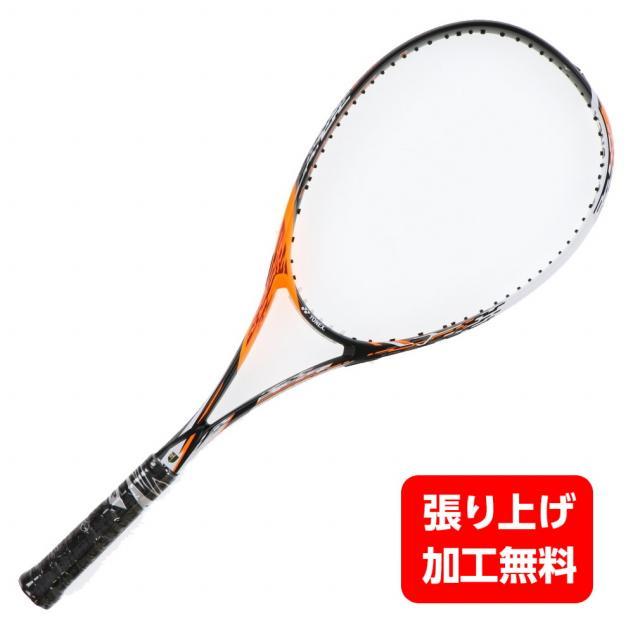 発売モデル ヨネックス 軟式テニス 信憑 未張りラケット エフレーザー7V FLR7V : 804 YONEX サイバーオレンジ