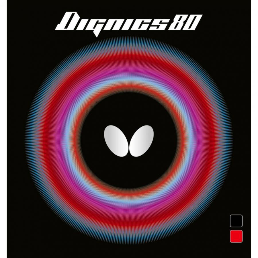 (人気激安) バタフライ 水谷隼選手使用ラバー ディグニクス80 公式通販 06050 ラバー 卓球 BUTTERFLY 裏ソフト