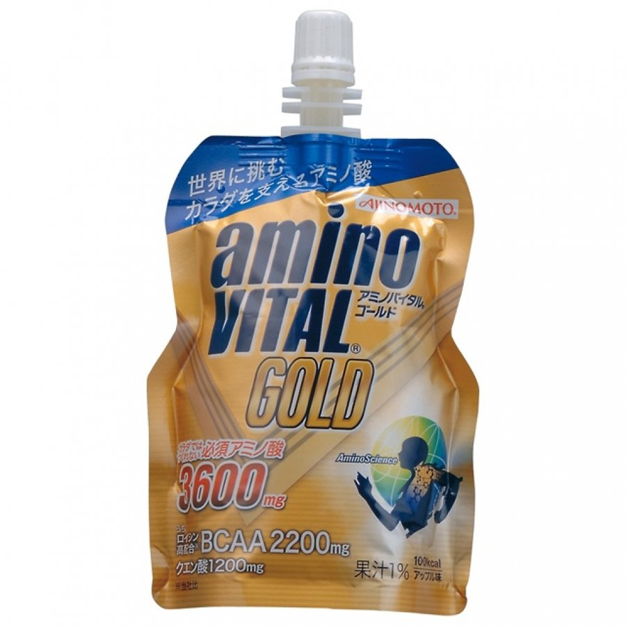 味の素 AJINOMOTO 限定価格セール アミノバイタル GOLD ゼリー 123g アップル味 暑さ対策 開店祝い 熱中症 AminoVital
