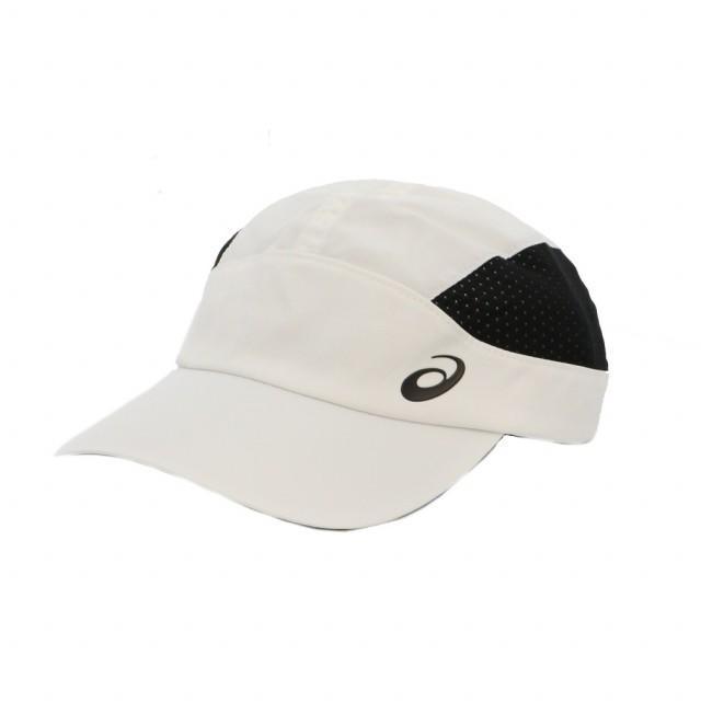 アシックス 陸上 ランニング 配送員設置送料無料 キャップ ランニングクロスキャップ 3013A160 : ファクトリーアウトレット 帽子 asics 100 ホワイト