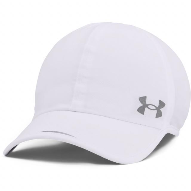 アンダーアーマー 陸上 ランニング キャップ UA Ms Iso-Chill Stretch Run 帽子 セットアップ ホワイト ARMOUR : 5☆大好評 UNDER 1361562 100 Cap