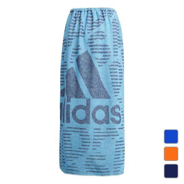 アディダス ラージ 売れ筋 ラップタオルL GF6924 ジュニア キッズ 水泳 送料無料カード決済可能 100×120cm adidas ラップタオル 子供