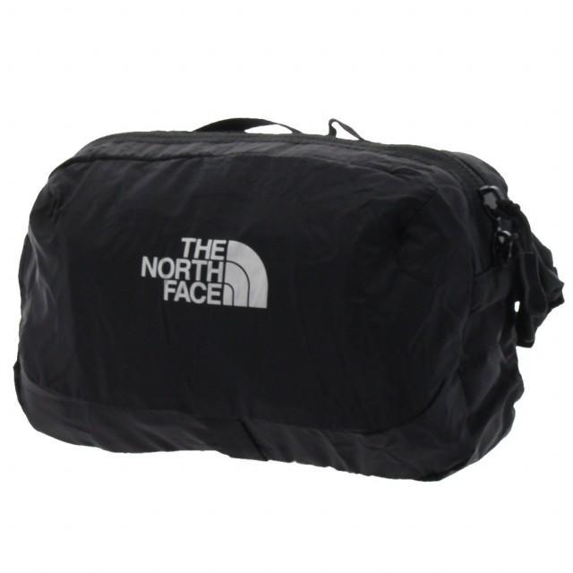 ノースフェイス FLYWEIGHT HIPPOUCH お得セット 低価格 NM81953 K ポケッタブル ヒップポーチ エコバッグ 2L : ブラック FACE THE NORTH