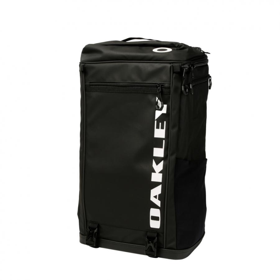 オークリー 新作続 ESSENTIAL SQUARE PACK XL 正規店 5.0 FOS900673 OAKLEY 40L ブラック 02E デイパック :