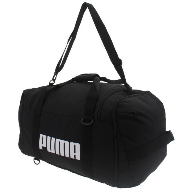 プーマ チャレンジャー 3WAY ダッフル 078054 01 : 75L 新作続 PUMA ダッフルバッグ 店舗 ブラック
