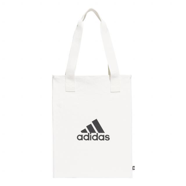 アディダス トートバッグ キャンバス ショッパー 即出荷 CANVAS SHOPPER オフホワイト : adidas GT4784 エコバッグ 売却