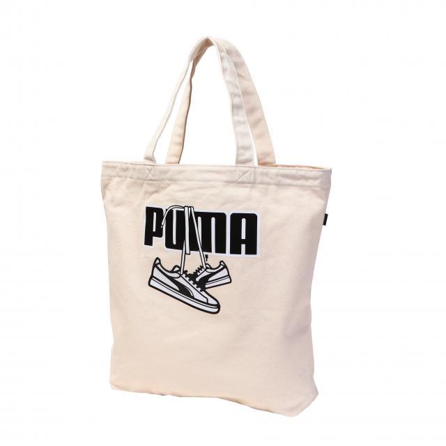 プーマ キャンバス トート III 全品最安値に挑戦 078478 人気の製品 02 ホワイト 20L トートバッグ PUMA :