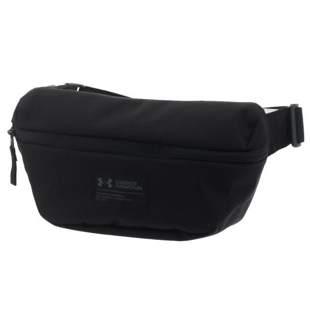 春の新作続々 アンダーアーマー 爆安プライス UA Waist Bag 1363303 2.5L ブラック×ブラック ARMOUR : ウエストバッグ UNDER