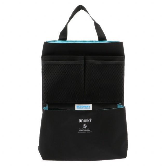 アネロ バックインバッグ GG-B3016 BK 軽量撥水杢ポリSPS ついに入荷 7L バッグ anello : ブラック 日本正規代理店品