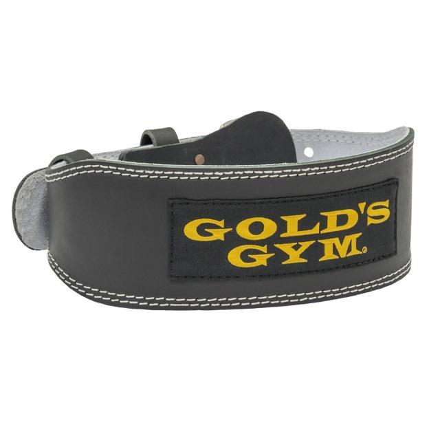 ゴールドジム トレーニングレザーベルトBK G3368 GOLDS GYM ウェイト用小物 入荷予定 ギフト