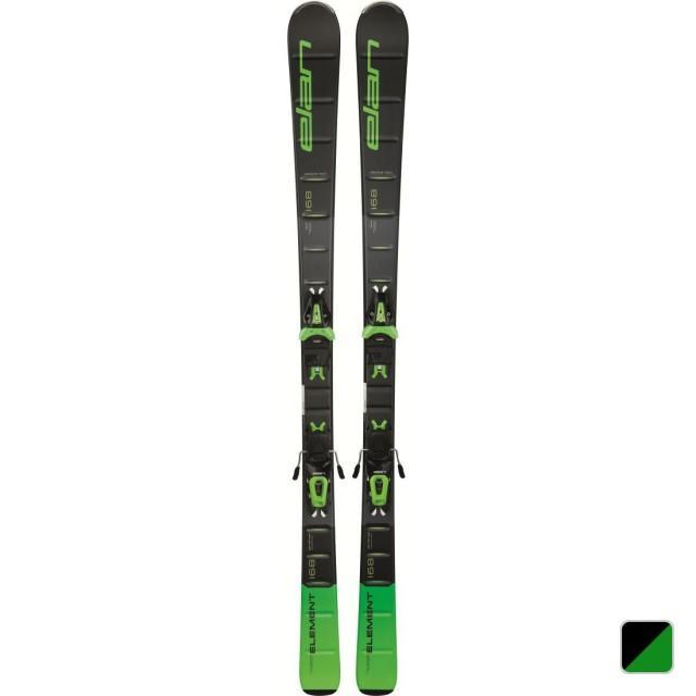 エラン elan スキー 板 ELEMENT 緑 LIGHT SHIFT ABLEFL18 ブラックグリーン