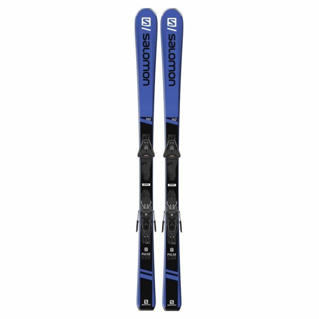 サロモン PULSE + L10 GW (L40889700) 19-20年モデル スキー 板 ビンディング付き : ブルー×ブラック SALOMON
