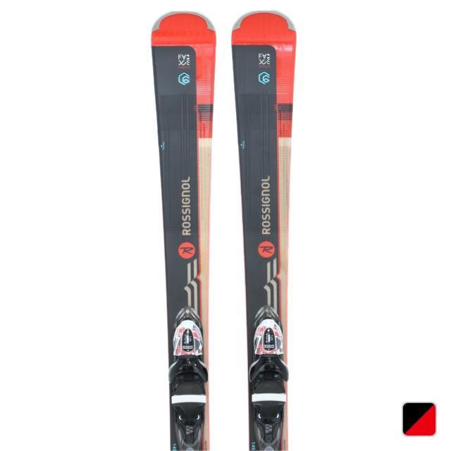 ロシニョール スキー 板 FAMOUS 6 (XPRESS) RAHBL03 ブラック ROSSIGNOL