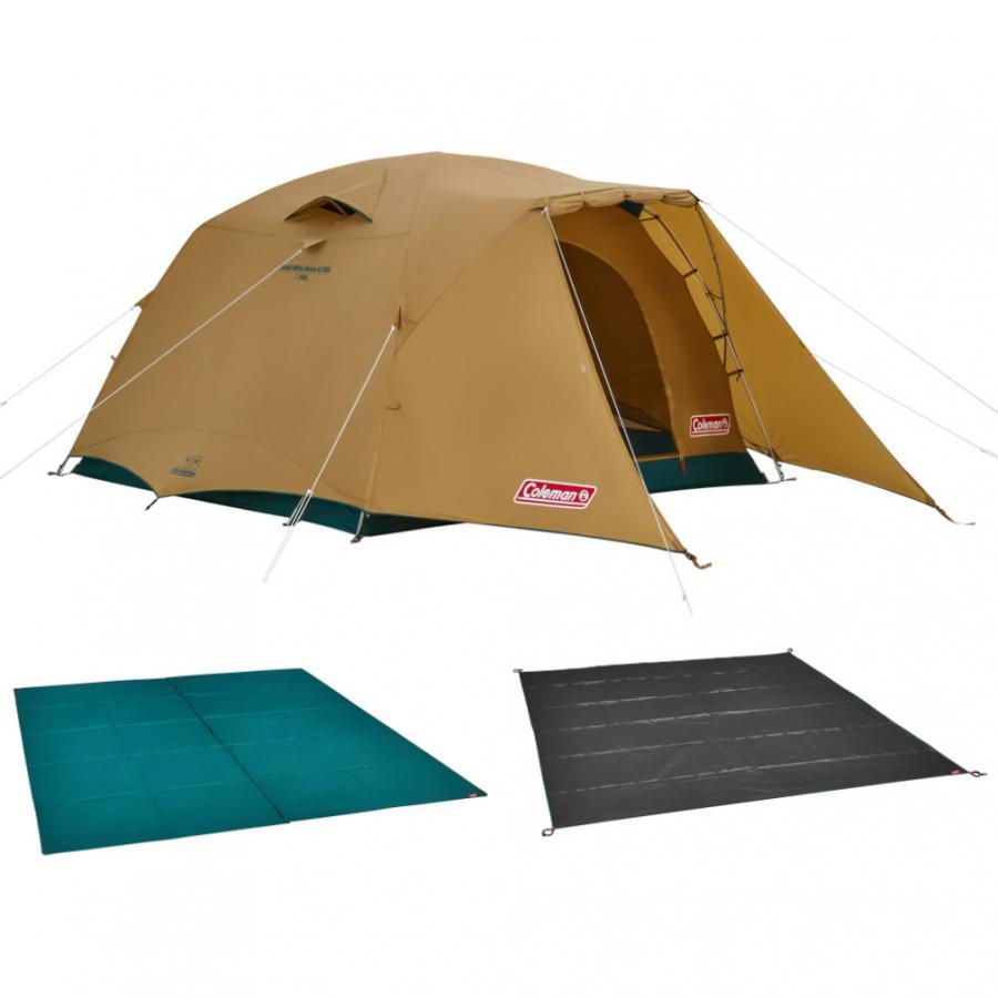 コールマン 2021年新作 タフワイドドーム V 300スタートパッケージ 2000038138 キャンプ ドームテント 5人用 4人用 定番から日本未入荷 6人用 大型 セット おトク Coleman シート マット