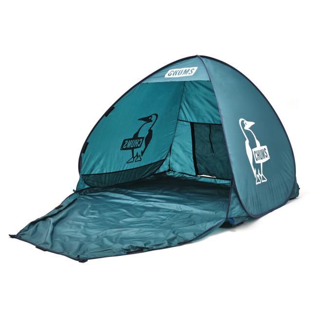 2020 新作 チャムス ポップアップサンシェード2人用 CH62-1631 T018 キャンプ ドームテント 宅送 : Teal Dark CHUMS