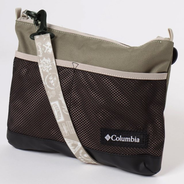 コロンビア スチュアートコーンサコッシュ II Wet Sand ショルダーバッグ トレッキング 252 入手困難 Columbia PU8006 安心の定価販売