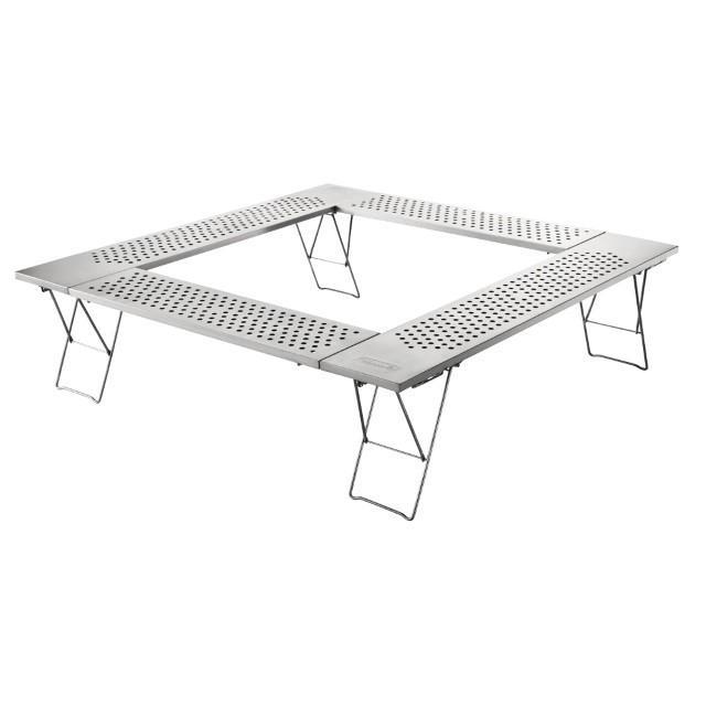 コールマン 販売期間 限定のお得なタイムセール ファイアープレーステーブル 2000010397 テーブル NEW Coleman キャンプ