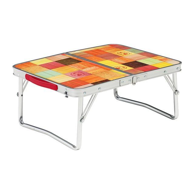5☆大好評 コールマン 限定モデル ナチュラルモザイクミニテーブルプラス 2000026756 テーブル キャンプ Coleman