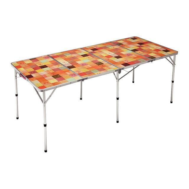 コールマン ナチュラルモザイクリビングテーブル 180プラス 高級品 2000026749 キャンプ Coleman 爆安プライス テーブル