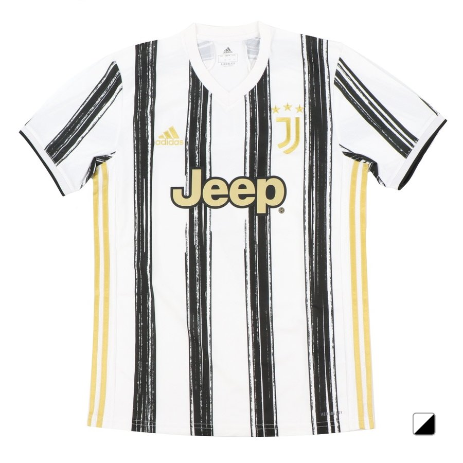 アディダス ユベントス ホームレプリカユニフォーム JUVENTUS 7番ロナウド メンズ サッカー/フットサル ライセンスシャツ : ホワイト×ブラック adidas