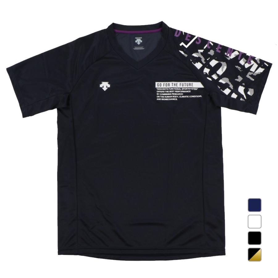 デサント メンズ レディース バレーボール DESCENTE 国内送料無料 おトク DVURJA54 プラクティスシャツ 半袖Tシャツ