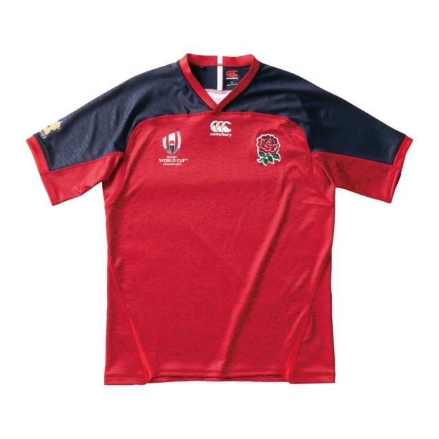 カンタベリー ラグビー イングランド代表 オフィシャルオルタネイトレプリカジャージ RWC2019 ENGLAND REPLICA JERSEY (VWR39003) CANTERBURY