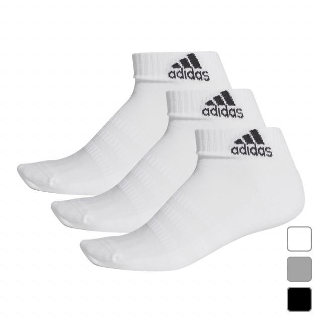 アディダス 3P ソックス パフォーマンス FIX63 ショートソックス 3足組靴下 adidas 未使用 激安通販専門店