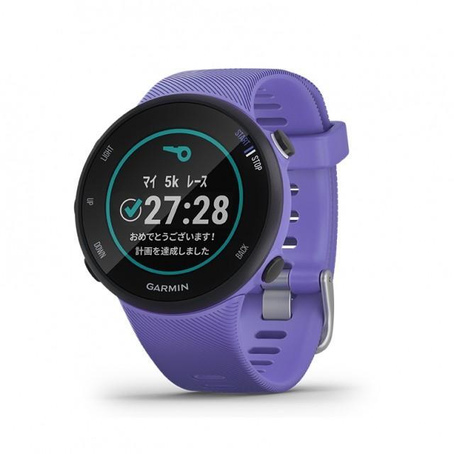 ガーミン ForeAthlete 45S Iris (0100215641 PU) スマートウォッチ ランニングウォッチ GPSウォッチ 腕時計 GARMIN