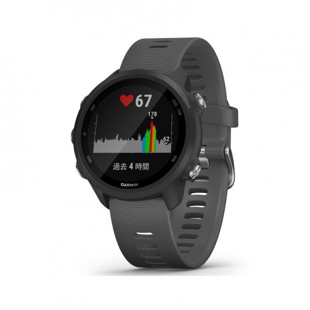 ガーミン ForeAthlete245 黒 Slate (0100212042 BK) ランニングウォッチ マルチスポーツ GPSウォッチ 腕時計 GARMIN