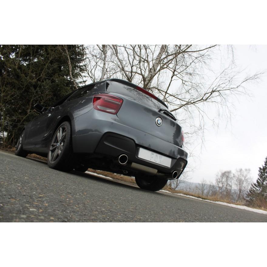 FOX フォックス オールステンレスマフラー(リアマフラー) BMW F20 M135i用 100mm 斜め 左右 alpha-online-shop 03