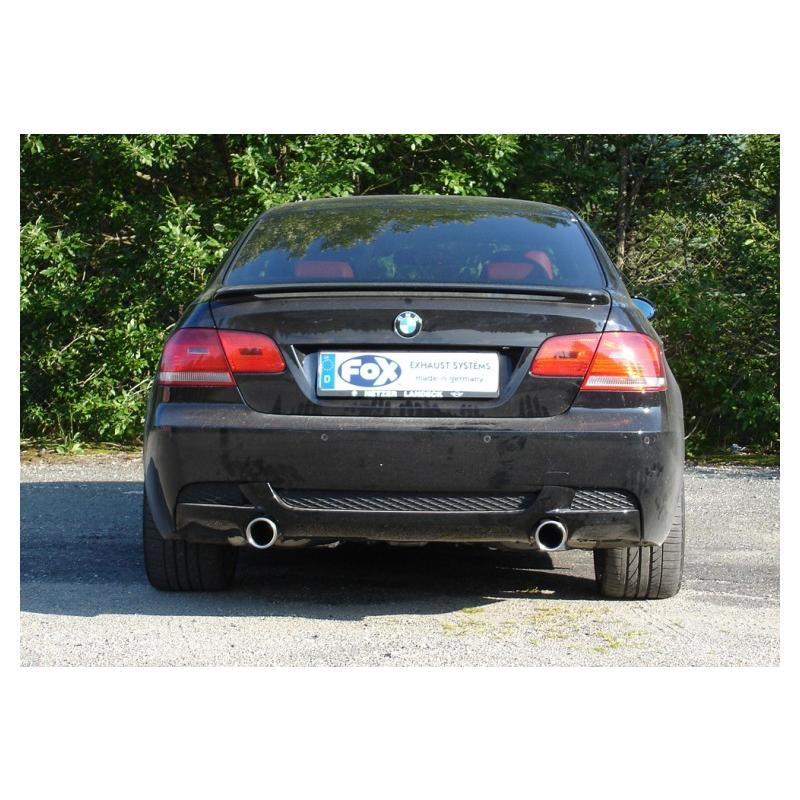 FOX フォックス オールステンレスマフラー(リアマフラー) BMW E90/E91/E92/E93 335i用 90mm 斜め 左右 alpha-online-shop 03