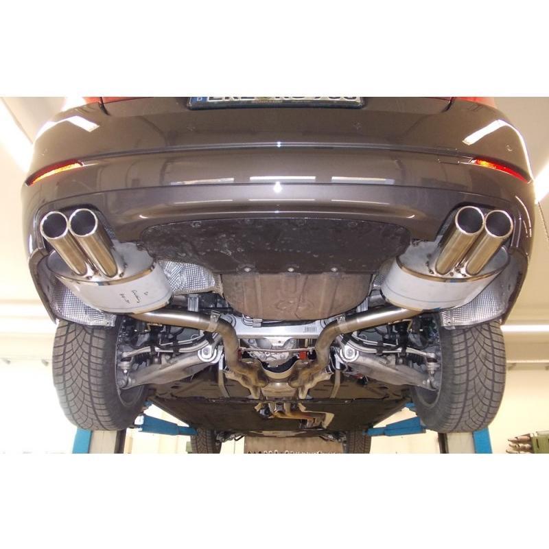 FOX フォックス オールステンレスマフラー(リアマフラー) BMW F10 セダン 535i用 80mm ダブル 左右|alpha-online-shop|04