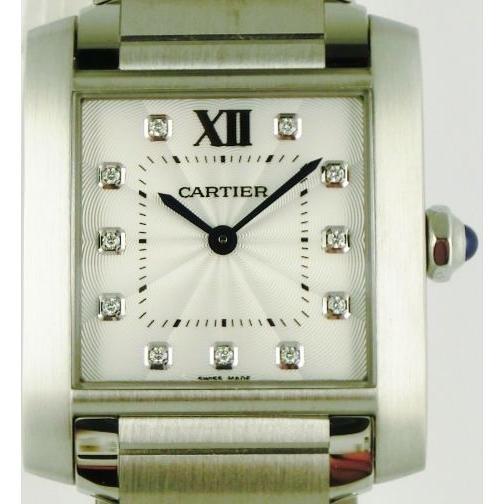 開店祝い カルティエ タンクフランセーズ MM | WE110007 レディス CARTIER MM 腕時計 CARTIER レディス TANK FRANCAISE MM, オーディオ渡辺:f0f383f5 --- airmodconsu.dominiotemporario.com