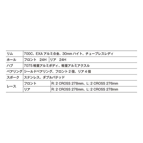 ALEXRIMS RXD3 ディスクロード/CX用700Cホイール 参考重量1550g アレックスリムズ|alphacycling|04