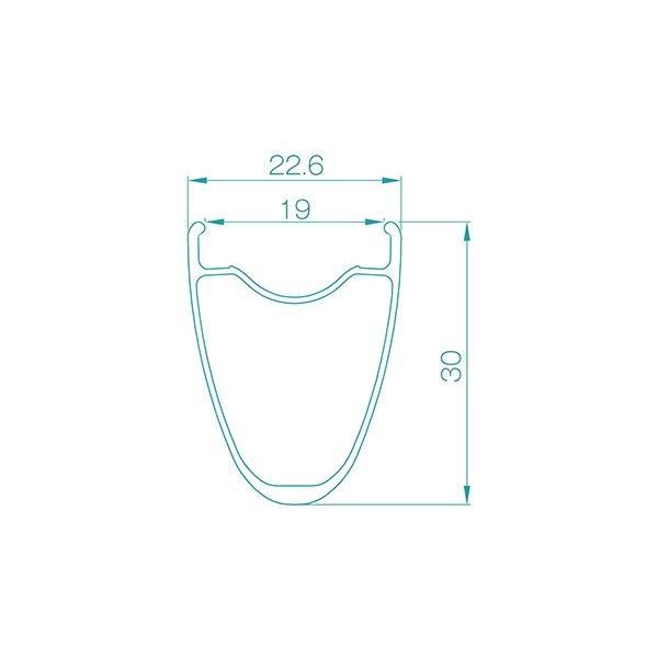 ALEXRIMS RXD3 ディスクロード/CX用700Cホイール 参考重量1550g アレックスリムズ|alphacycling|05