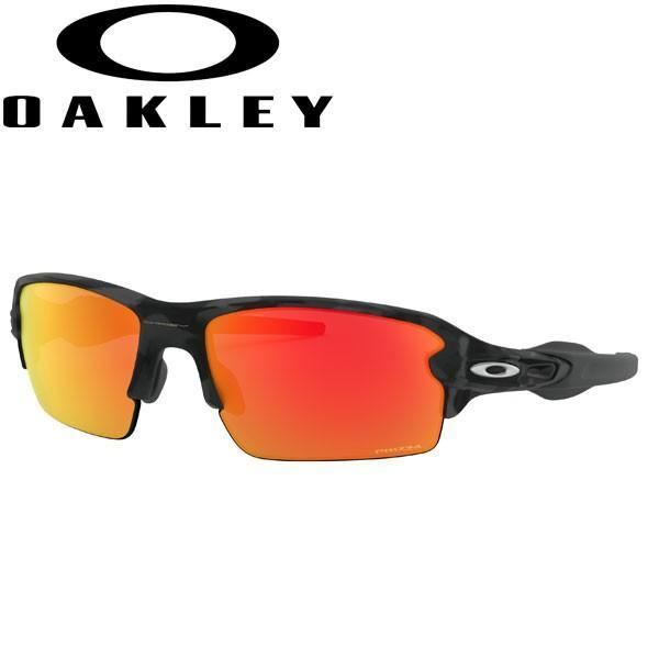 オークリー フラック2.0 プリズム ルビー サングラス OO9271-2761 アジアンフィット USAモデル OAKLEY PRIZM RUBY FLAK2.0 / ブラックカモ フレーム
