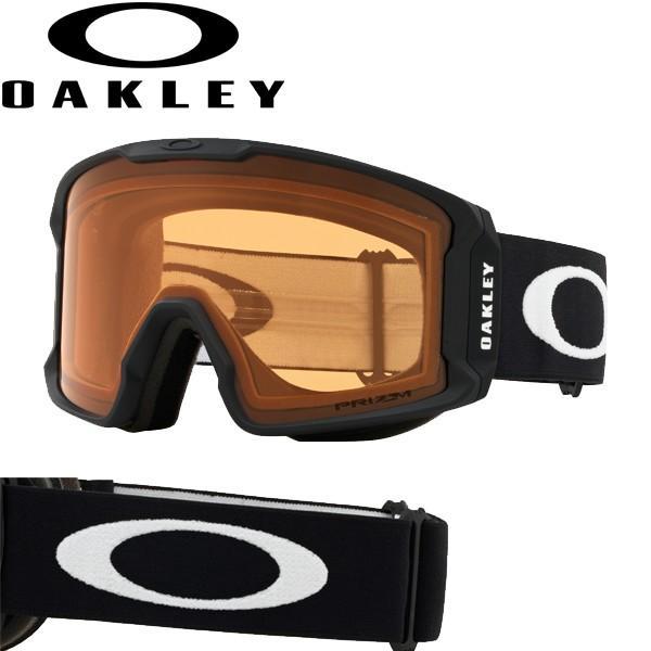 オークリー ゴーグル ラインマイナー OO7070-57 スタンダードフィット プリズム スノー パーシモン マットブラック LINE MINER OAKLEY USAモデル