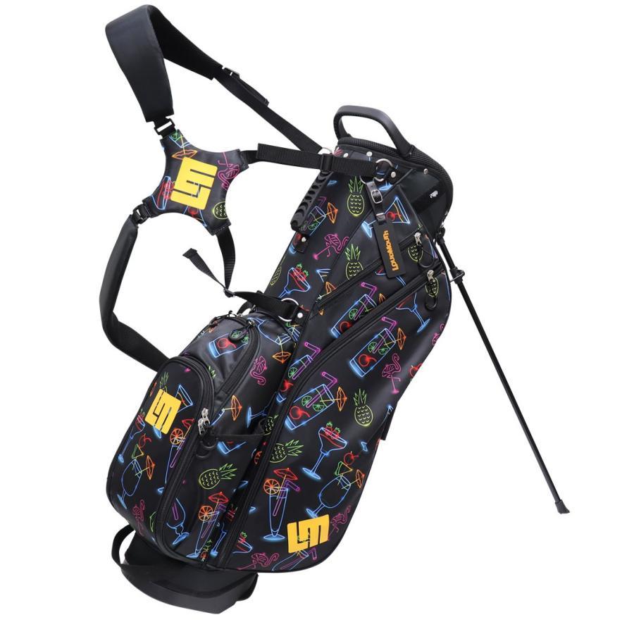 ラウドマウス ゴルフ 8.5インチ スタンド バッグ LM-CB0010 (215 ネオンカクテル) / Loudmouth メンズ レディース