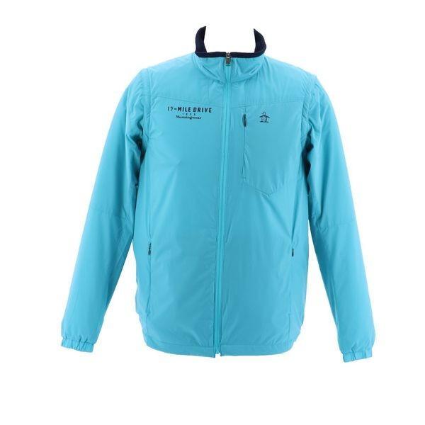 マンシングウェア メンズ ゴルフウェア ブルゾン/コート MGMMJK03 BL00 ブルー Munsingwear 秋冬 18fwct